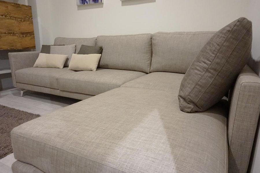 Offerta divano angolare sfoderabile Morbidline a Lecco, Monza, Bergamo e Milano