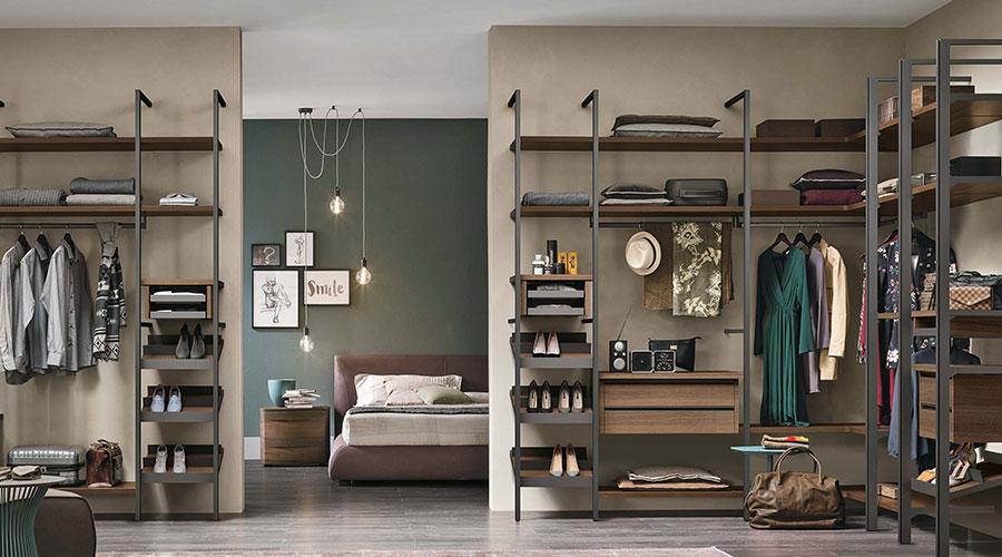 Cabine armadio in metallo e legno a Lecco, Monza, Milano e Bergamo