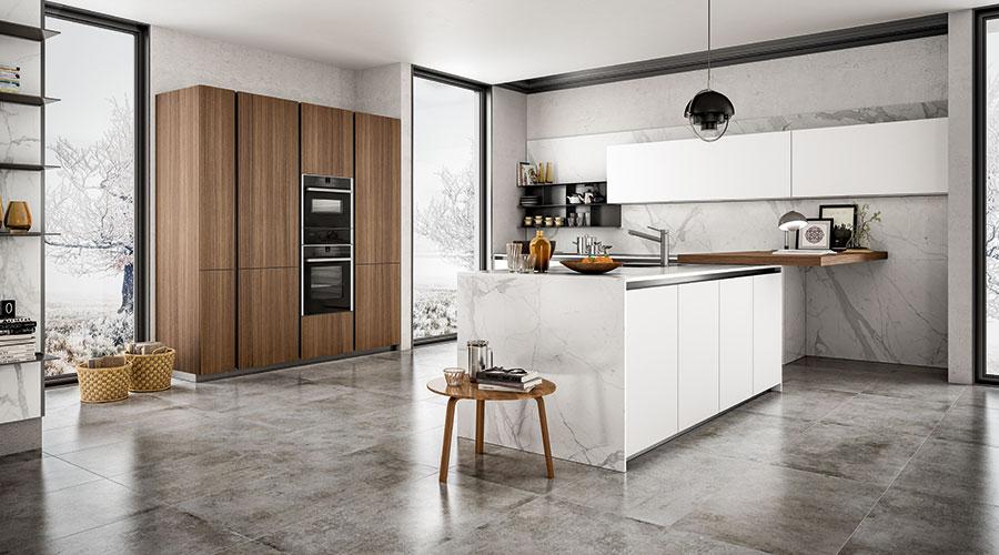 Cucine con zoccolo ribassato 6 centimetri a Lecco, Monza, Milano e Bergamo