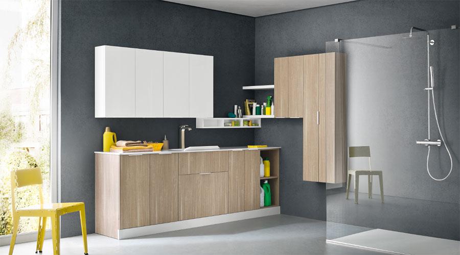 Mobili e arredamento per lavanderie Compab L01 a Lecco, Monza, Milano e Bergamo