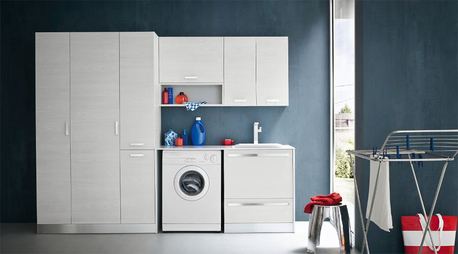 Mobili e arredamento per lavanderie Compab L03 a Lecco, Monza, Milano e Bergamo