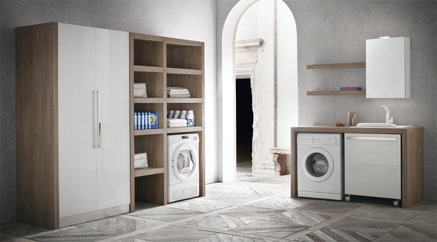 Mobili e arredamento per lavanderie Compab L06 a Lecco, Monza, Milano e Bergamo