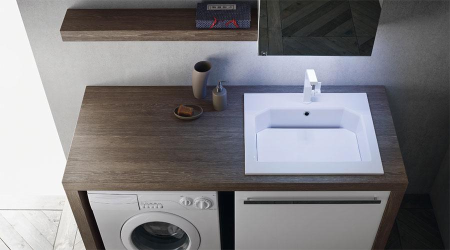 Mobili e arredamento per lavanderie con lavatoio a Lecco, Monza, Milano e Bergamo