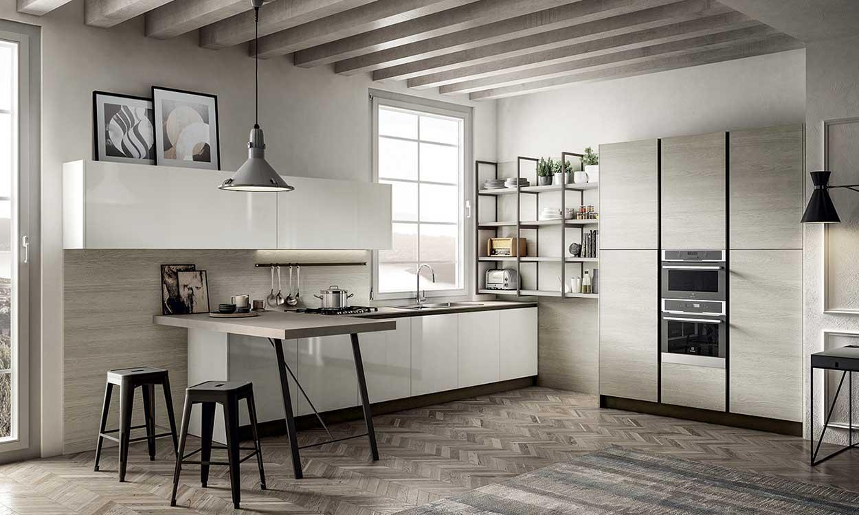Cucina moderna Arredo3 Cloe a Lecco, Monza, Milano e Bergamo