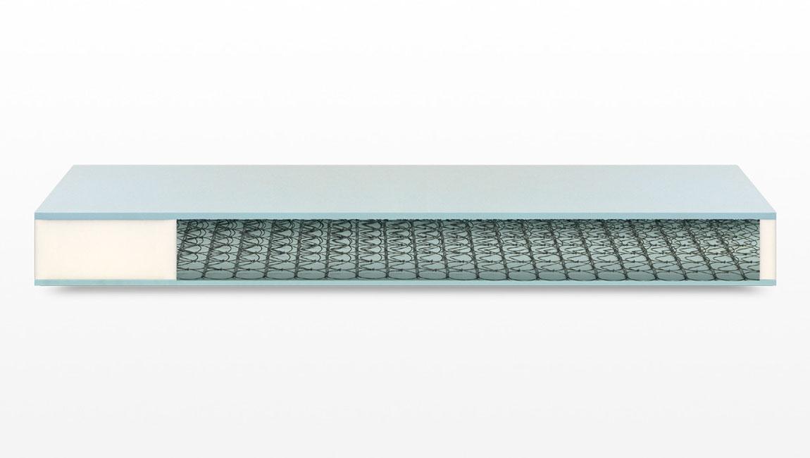Materassi singoli in schiuma flessibile con molle e Clima Compact in offerta a Lecco Monza Brianza Como Bergamo e Milano
